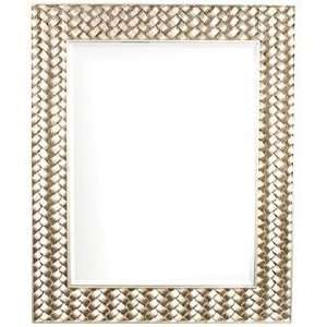Howard Elliott Cabrera 44 High Silver Wall Mirror