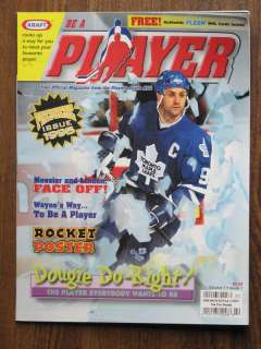 1995 Be A Player Magazine. Vol. 1, #1 with cards