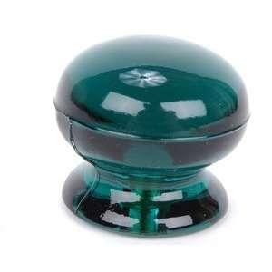 Emerald Green Domed Glass Knob