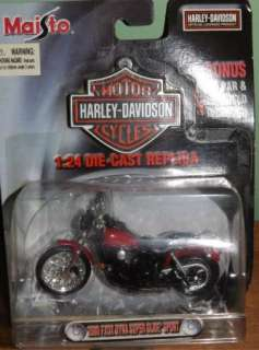 Maisto Die Cast Harley Davidson Motorcycle Scale 124 Original Package