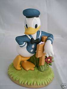 Disney Donald Duck Hand Made Figurine Figure Japan NEW