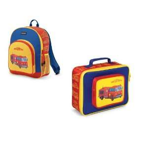 Crocodile Creek Backpack and Lunch Box Set  Fire Truck