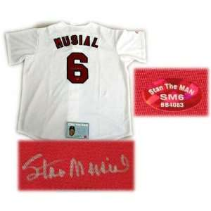 Stan Musial St. Louis Cardinals Autographed Jersey  Sports