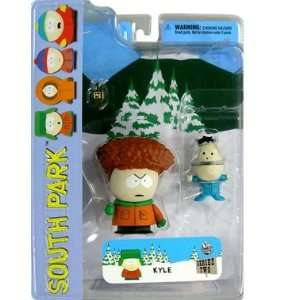 South Park Series 2 Kyle with Ike (w/Afro) Action Figure