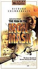 The Man in the Iron Mask VHS, 1999