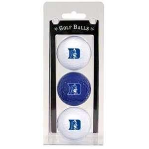 Duke University Blue Devils 3pk Pack Golf Balls New