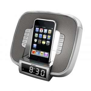 Jensen Jims 182 Ipod Docking Clock Radio With Led Glow