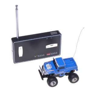 Blue RC Radio Remote Control Cross Country Racing Car Toy