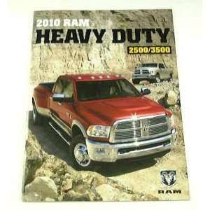 2010 10 Dodge RAM Truck BROCHURE Heavy Duty Pickup