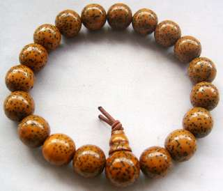 Natural PuTi Seed Tibetan Buddhist Prayer Wrist Mala