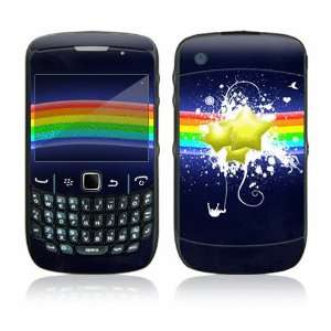 Rainbow Stars Decorative Skin Cover Decal Sticker for BlackBerry Curve