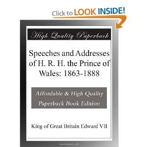 Prince of Wales 1863 1888 King of Great Britain Edward VII Books