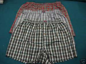 NWT Mens/Boys Underwear Boxers Size Large 3 Pair lot