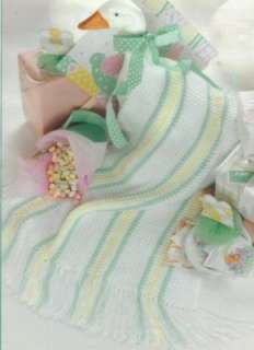 BABY AFGHAN CROCHET PATTERNS BLANKETS PATTERN NEW BOOK |