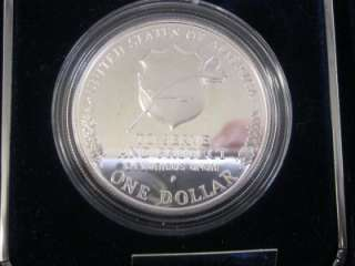 National Law Enforcement Officers Memorial Silver Proof Dollar