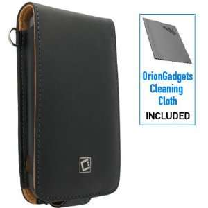 Executive Leather Case w/ Spring and Swivel Clip for HTC