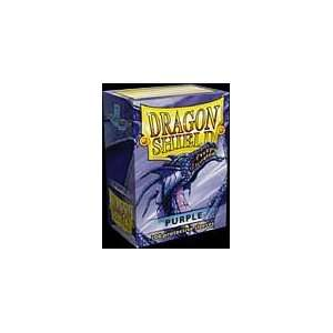 Dragon Shield Standard Deck Sleeves Purple 100 Count: Toys