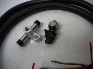 COMP CAMS Electric Vacuum Brake booster Pump Kit 5500 12V 25Hg New