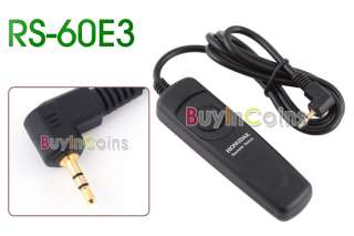 Remote Shutter Release Cord for Canon RS 60E3 500D 450D