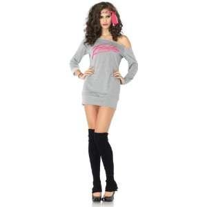 Flashdance   Sweatshirt Dress Adult Costume Health