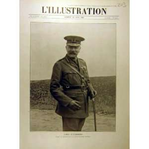 1916 Portrait Lord Kitchener Military Ww1 War French