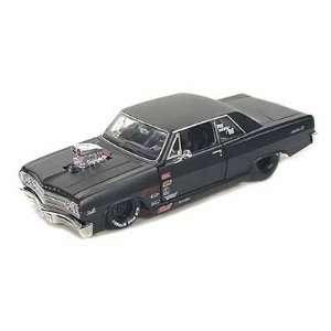 1965 Chevy Malibu SS Pro Street 1/24 Black: Toys & Games
