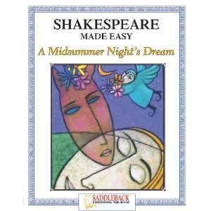 Midsummer Nights Dream (Shakespeare Made Easy) Student Guide (Enhanced