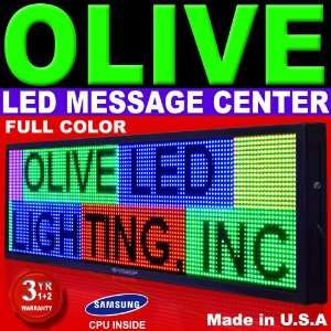 Programmable Full Color LED Sign Scrolling Display for