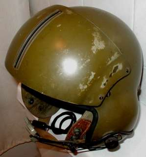 US Army Military Helicopter Pilot Flight Helmet Vietnam Era