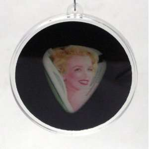 Marilyn Monroe Guitar Pick #2 With MADE IN USA Christmas Tree Ornament