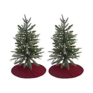 32 Pre Lit Battery Operated LED Christmas Tree   Multi Lights with