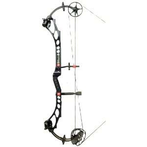 PSE Bow Madness XL Compound Bow Black / Right Hand: Sports