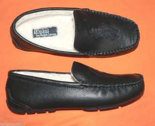 Polo Ralph Lauren Paulson II slippers shoes men leather