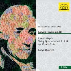 Auryns Haydn: Op. 50: String Quartets, Vol 7 of 14, Nos