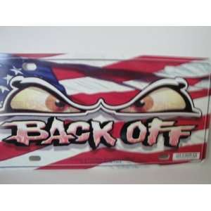 Chroma Graphics,Inc. 1469 Freedom Back Off Plastic Tag