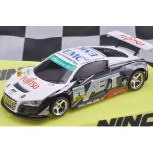32 Ninco Analog Slot Cars   Audi R8 GT3 ABT (50558): Toys & Games