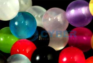 50pcs Resin Cats Eye Candy Round Beads Perles Mix Color