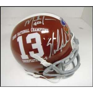 Mark Ingram Signed Mini Helmet   Nick Saban Alabama