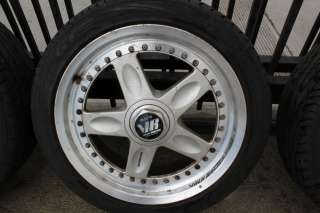 RARE JDM VOLK RAYS GR C 17 WHEELS STAGGERED 5x114