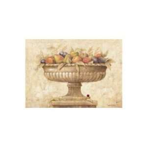 Sepia Con Frutas   Poster by Javier Fuentes (27 x 20): Home & Kitchen