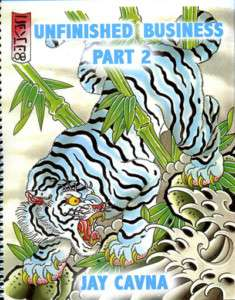 Jay Cavna Tattoo Sketch Book   Unfinished Business 2