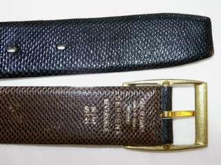 Reversible  Snake Skin Belt 32