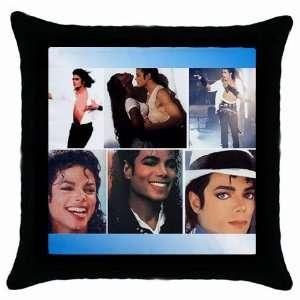 Michael Jackson Collectible Photo Throw Pillow Case