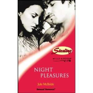 Night Pleasures (Sensual Romance) (9780263832839) Jule McBride Books