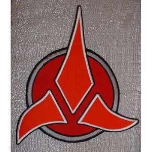 Star Trek KLINGON Large Size Jacket Logo PATCH: Everything