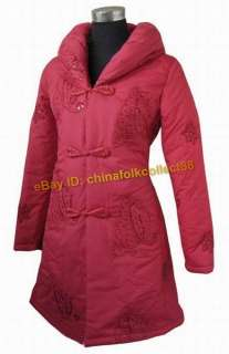 Chinese Women Winter Long Jacket/Coat/Outerwear