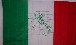 NEW 3ftx5 ITALY MAP FLAG ITALIAN STORE BANNER