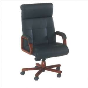Cherry DMi Eclipse Executive Leather High Back Chair
