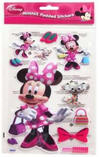 Disney Minnie Mouse Mickey Padded Stickers Wall Room