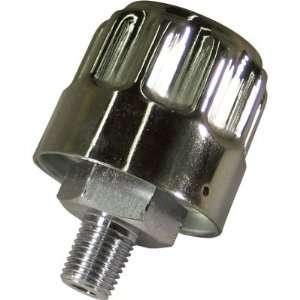 Nortrac Hydraulic Breather Cap   1/4in. NPT, Chromed Steel